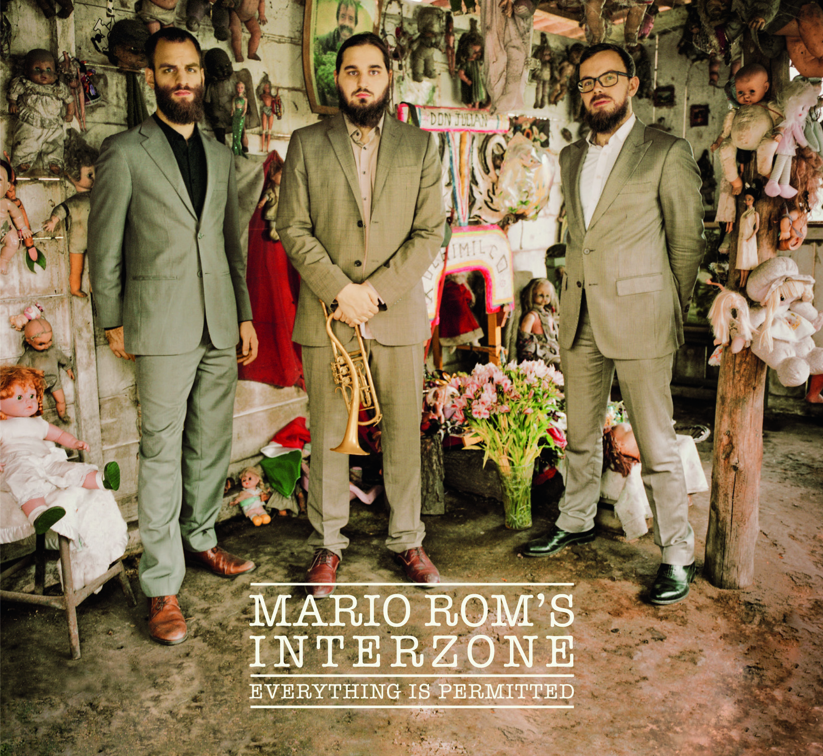 Mario Rom's INTERZONE - Everything is Permitted - Cover 1 FRONT
